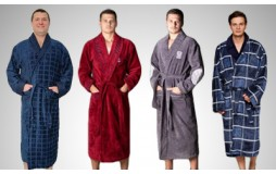 Мужские натуральные халаты