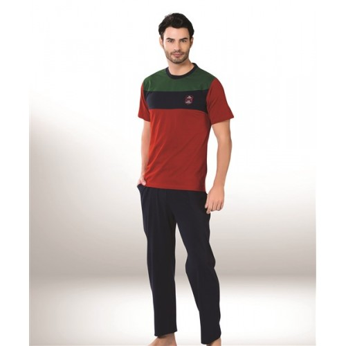 Мужская пижама большого размера