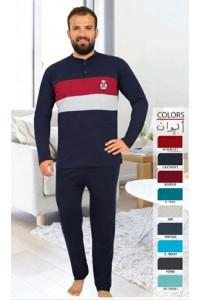 Мужская пижама брюки с кофтой