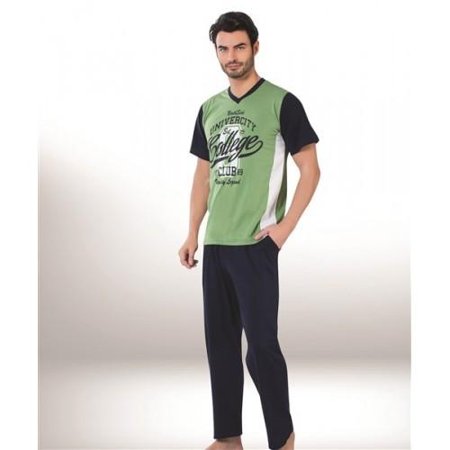 Мужской домашний комплект с брюками