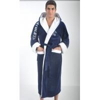Плотный мужской махровый халат