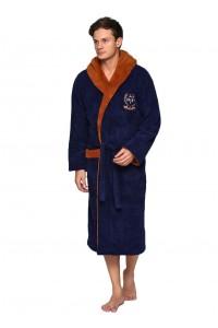 Пушистый мужской халат