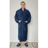 Натуральный мужской махровый халат