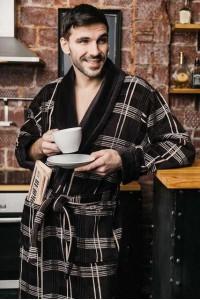 Натуральный Турецкий мужской халат