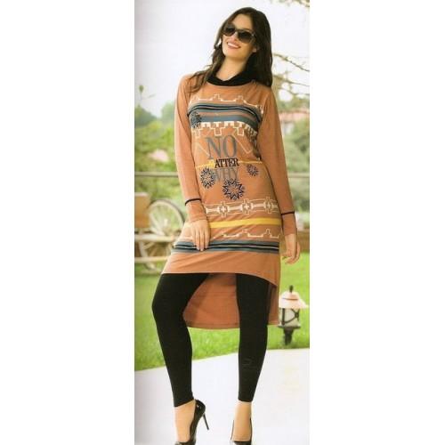 Женское платье Турция с леггинсами