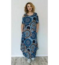 Летнее легкое платье 11317