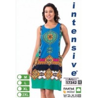 Летнее платье без рукавов Турция