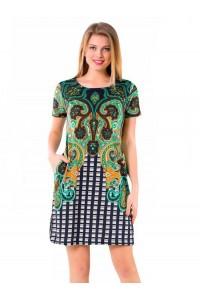 Женское летнее платье-туника