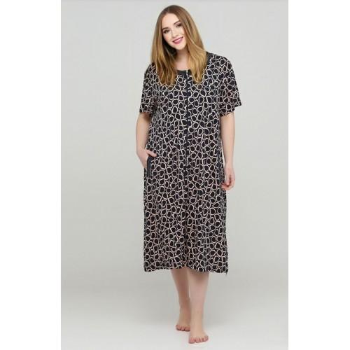 Модельный летний женский халат