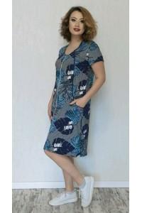 Модный женский летний халат