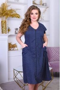 Женский летний халат больших размеров