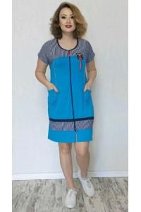 Женский летний халат модал