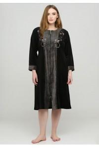 Женский велюровый халат все размеры