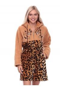 Махровый халат на девушку-тигрёнок