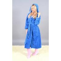 Женский махровый халат большого размера