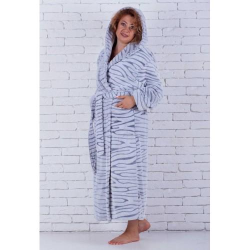 Зимний женский халат большой