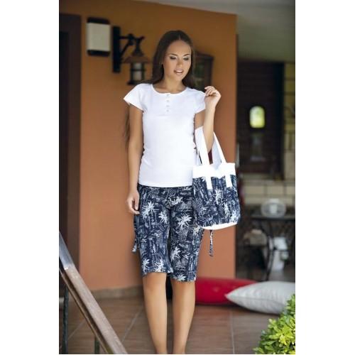 Женский комплект с шортами Пляжный