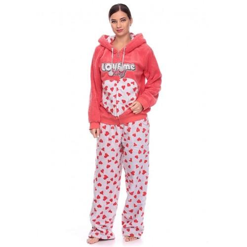 Махровая молодёжная пижама Турция