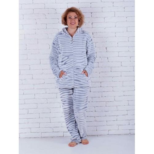 Махровая пижама женская очень больших размеров