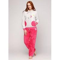 Пижама теплая женская махровая