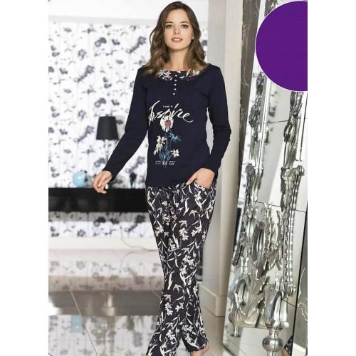 Трикотажная женская пижама