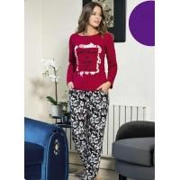 Женский комплект с брюками-пижама