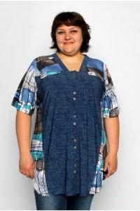 Женская большая рубашка блуза