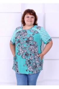 Женская большая туника для  лета