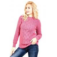 Вязаный свитер с узором