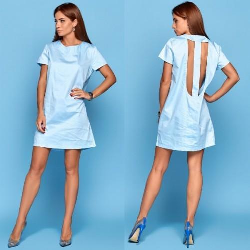 Платье с вырезом 10834