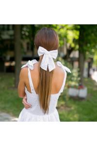 Сарафан мини с лентой для волос 11302