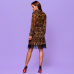 Шифоновое платье лео 58014