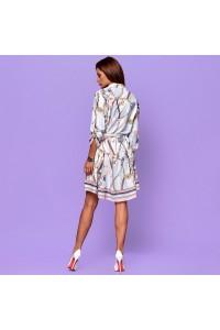 Легкое платье с сумочкой на поясе 30282-001