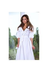 Платье в пол нежное 10808