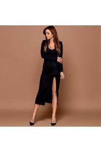 Замшевое платье 11199