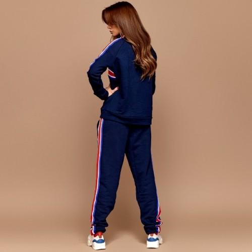 Утепленный женский спортивный костюм 11033