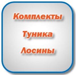 Выбрать комплект туника лосины интернет магазин